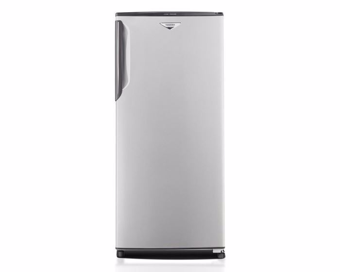 Picture of TOSHIBA Deep Freezer No Frost 4 Drawers, 195 Liter in Silver color with Quick freezing GF-18H-S