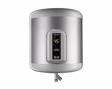 Picture of TORNADO Electric Water Heater 35 Litre in Silver Color with Digital Screen EHA-35TSD-S