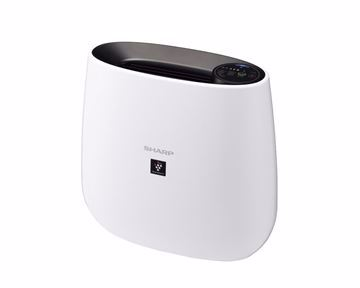 Picture of SHARP Air Purifier With Plasma Cluster and HEPA Filter Covering Area 23 m2 In White x Black Color FU-J30SA-B