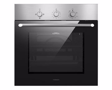 Picture of TORNADO Built-in Gas Oven 60 x 60 cm 67 Litre In Stainless Steel Color with Convection Fan GO-VM60CSU-S