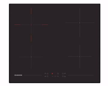 Picture of HOOVER Built-In Hob 60 x 60 cm 4 Electric Radiant Zone , Vitro Ceramic In Black Color HH64DB3T