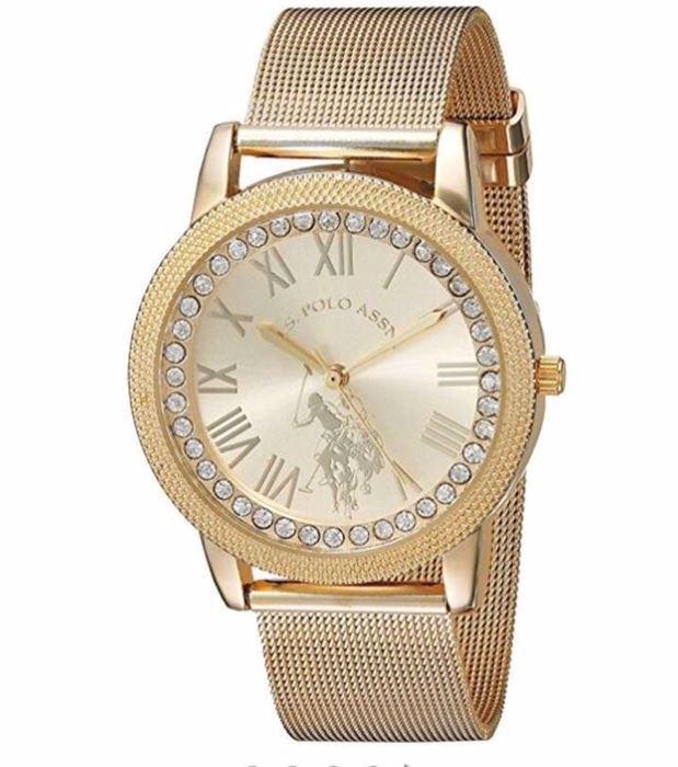 صورة U.S. Polo Assn. Women's Quartz and Alloy Casual Gold Toned Casual Watch