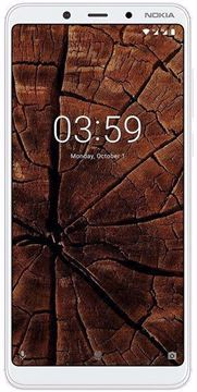 Picture of Nokia 3.1 Plus Dual Sim, 32GB, 4G LTE - White