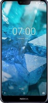 Picture of Nokia 7.1 Dual Sim, 64GB, 4G LTE - Blue