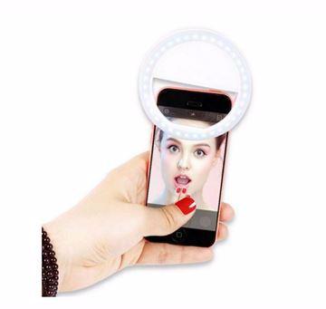 صورة Universal LED Flash Light Up Selfie Luminous Phone Ring For iPhone 6 6S Plus LG Samsung For Xiaomi Huawei