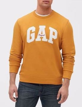 صورة GAP Logo Fleece Crewneck Sweatshirt