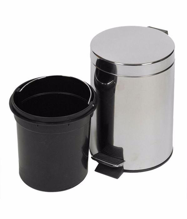 صورة Stainless Dustbin 3 litre