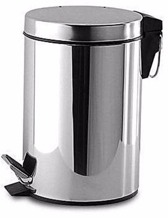 صورة Stainless Dustbin 5 litre