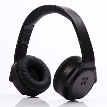 صورة SODO MH3 BLUETOOTH 3.0 WIRELESS HEADPHONE WITH NFC BLACK COLOR