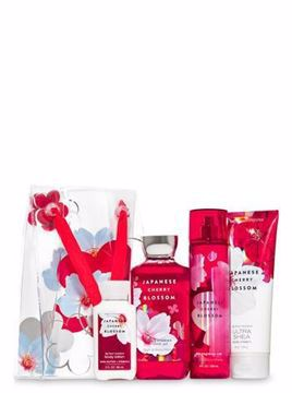 صورة Bath and Body Works - JAPANESE CHERRY BLOSSOM Gift Bag Set 🥰🎁