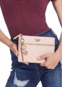 صورة Guess Wallet For Women - Rose Gold