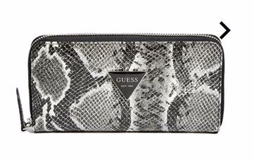 Picture of GUESS Women's ABREE ZIP-AROUND WALLET