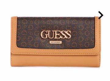 Picture of GUESS Women's MUZE LOGO SLIM WALLET