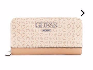 Picture of GUESS Women MUZE ZIP-AROUND WALLET