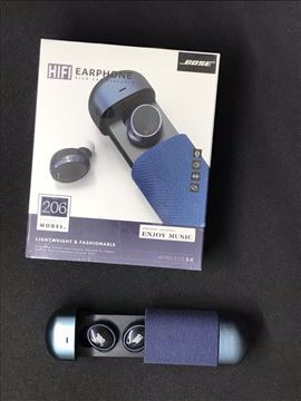 صورة TWS 206 Wireless Bluetooth 5.0 Earbuds Headset