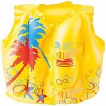 "Picture of Bestway 16"" x 12""/41cm x 30cm Tropical Swim Vest"