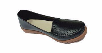 صورة حذاء لوفرز وموكاسين اسود قالب صغير-حريمى