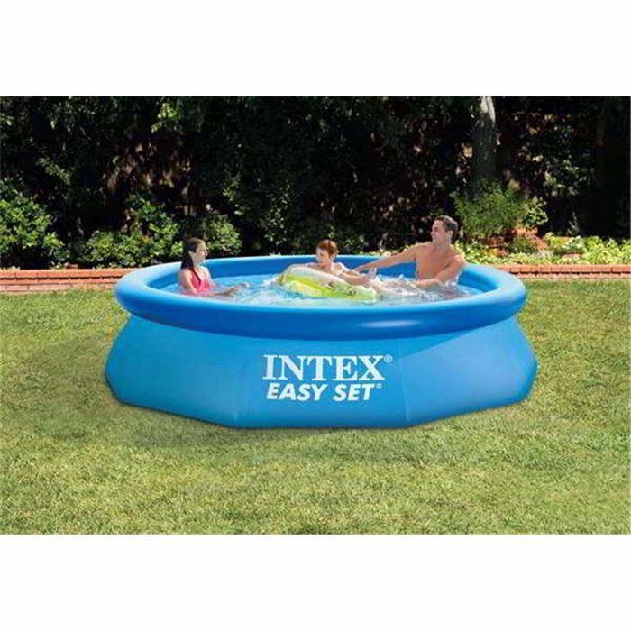 صورة حمام سباحة باطار نفخ قطر 305 ارتفاع 76 سم بدون فلتر من انتيكس
