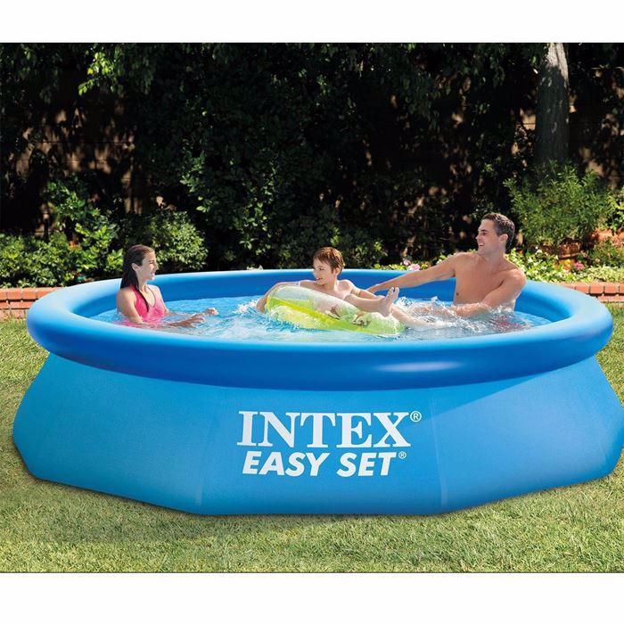 صورة حمام سباحة باطار نفخ قطر 366 ارتفاع 76 سم بدون فلتر من انتيكس