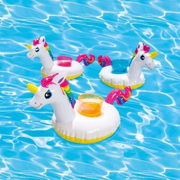 صورة INTEX Unicorn Drink Holders 3-Pack