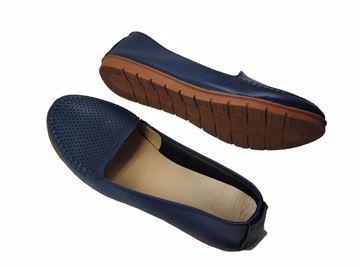 صورة حذاء لوفرز وموكاسين كحلى قالب صغير-حريمى