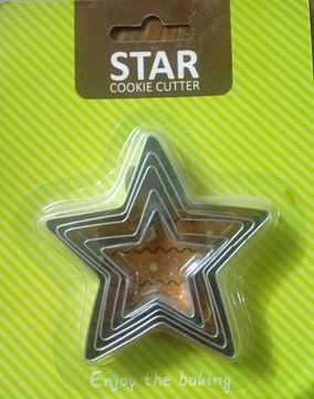 Picture of Star cookie cutter