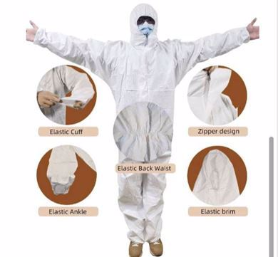 Picture for category Disposable Protective Coverall Suit