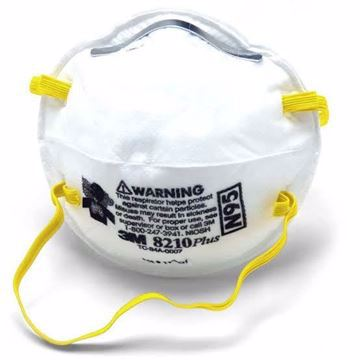 Picture of 3M mask 8210 N95