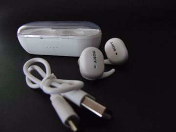 Picture of Airpods Sony أبيض