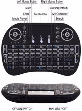 Picture of لوحة مفاتيح لاسلكية صغيرة