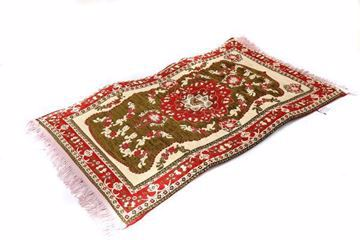 Praytime medical prayer mat, made of Chenille yarn and memory foam